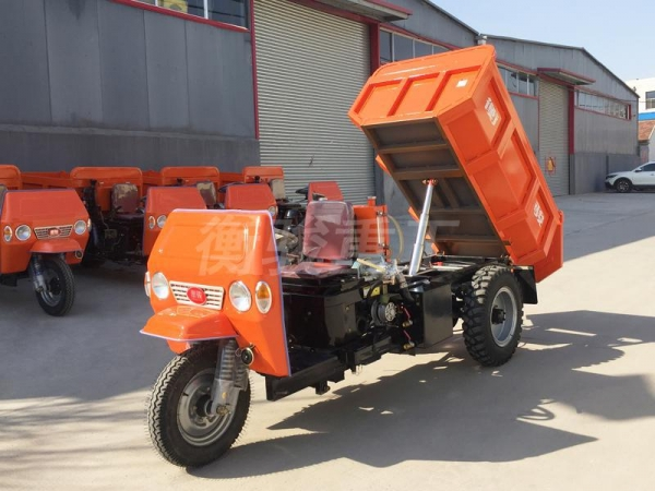 China 2T Diesel Mining Tricycle