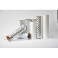 Quality Bopp Holographic Film For Printing, Lamination, Gift Wrapping for sale