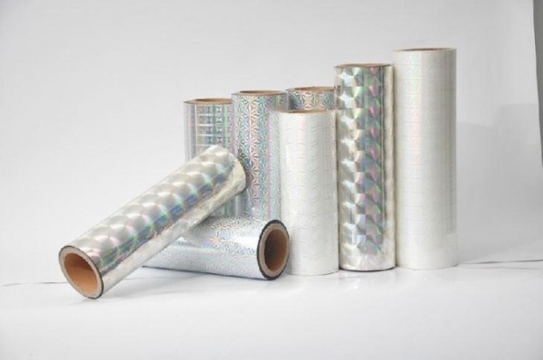 China Bopp Holographic Film For Printing, Lamination, Gift Wrapping