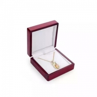 Quality High Glossy wood necklace box $5.45 to $6.99 for sale