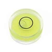 Quality Circular Plastic Spirit Round Bubble Level Vials Indicator for sale