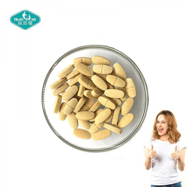 China Private Label Iron Supplement and Multivitamin Tablets with Vitamin C