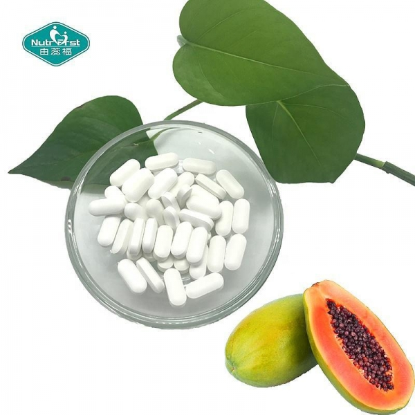 China Private Label Original Papaya Enzyme Chewable Tablets For Digestive Health