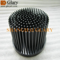 Quality GLR-PF-120070 120mm round led heatsink for sale