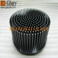 Buy cheap GLR-PF-150070 150mm round led heatsink from wholesalers