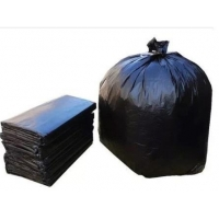 Quality 240L Extra Heavy Duty Black Garbage Bags for sale
