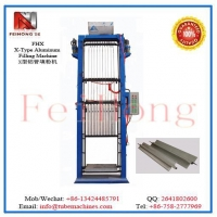 Quality X shape heater Aluminum Filling Machine for sale