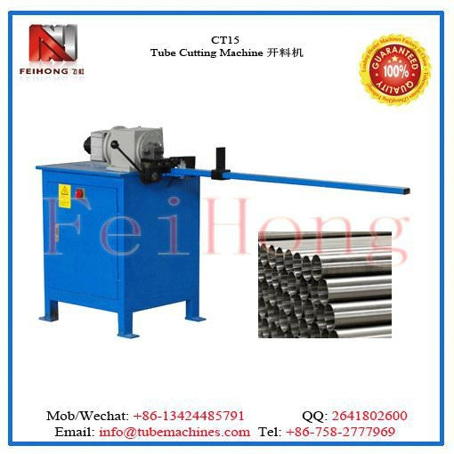 China Tubular Heater Pipe Cutting Machine