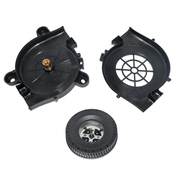 China Sensor Housing Vehicle cooling fan and shell