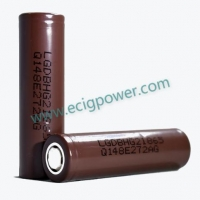 Quality LG battery LG HG2 18650 BATTERY 3000MAH for sale