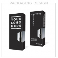 Quality Vape Accessories Customized logo vape cartridge packaging for sale