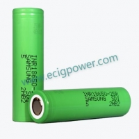 Quality Samsung battery SAMSUNG 25R 18650 BATTERY 2500MAH for sale