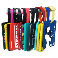 Buy cheap Rubber Bus Logo Luggage Tag Travel Bag Tag from wholesalers
