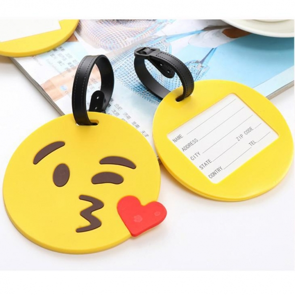 China Cute Luggage Tag Cartoon Suitcase Id Addres Holder Cheap Baggage Boarding Tags