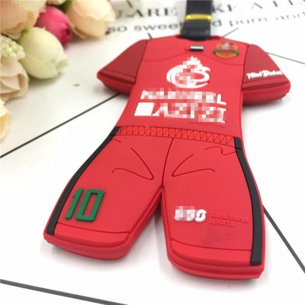 China Customized Pvc Soft Rubber Silicon Luggage Tag