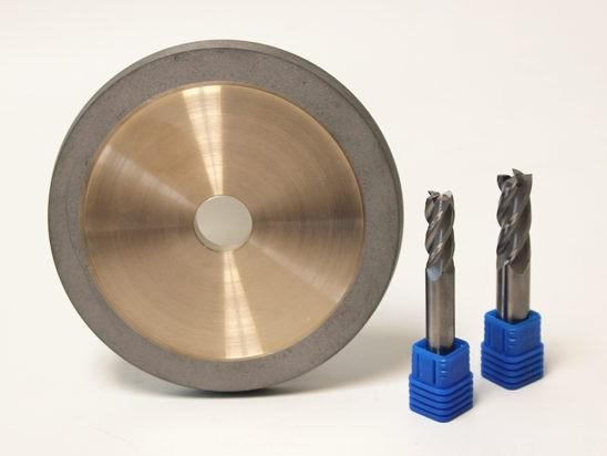 China Diamond Flute Grinding Wheel for Carbide Tools