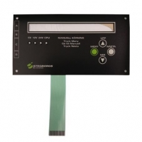 Buy cheap Membrane switch + aluminum plate from wholesalers