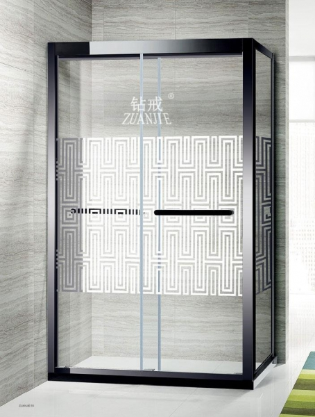 China 304 stainless steel shower room F022-4Buffer square
