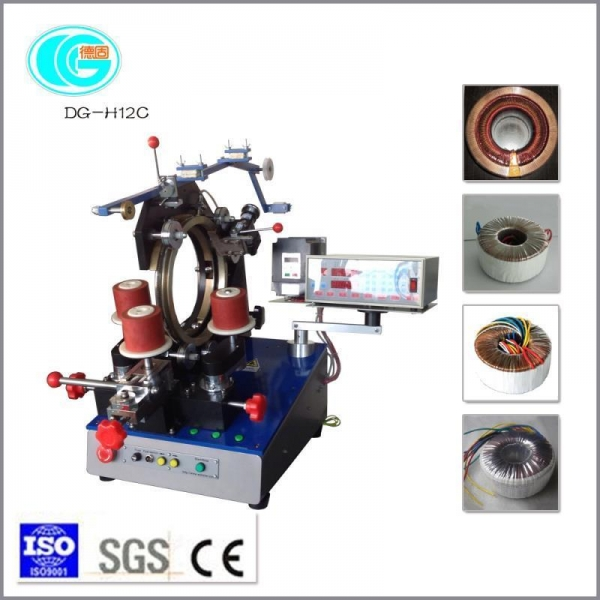 Buy DG-H12C 12 inch rack ring winding machine at wholesale prices