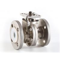 Quality Stainless steel lining fluorine ball valve for sale