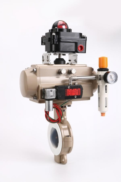 Buy Fluorine lining butterfly valve at wholesale prices