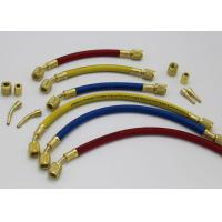 """Buy Plus II 1/4"""" Heavy Duty HCA Straight x Angle R22 R502 R134a Charging Hose at wholesale prices"""