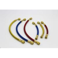 "Quality 60"" Inch Premium Flexible Refrigerant Hose with Anti - blow Back Fitting for sale"