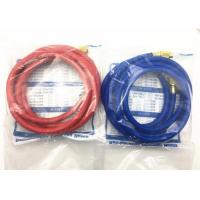 Quality NBR Material ac charging hose , charging hose refrigerant for Conveying R134a for sale