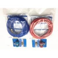 Quality 5MM Refrigerant Charging Hose Assembly with Charge Quick Couplers , Low and High Pressure for sale