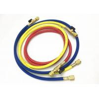 Quality Air Conditioning Service Freon Refrigerant Hoses With Ball Valves For R410A for sale