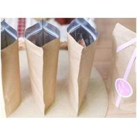 Buy cheap Tea Packaging Kraft Pouch Kraft Paper/VMPET/PE from wholesalers