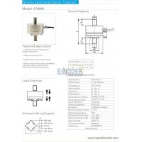 Buy cheap Tension and compression load cell F3606 1kn to 50kn from wholesalers