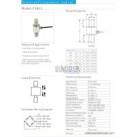 Buy cheap Tension and compression load cell F3611 10kn to 3000kn from wholesalers