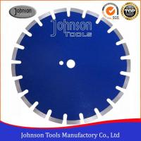 Buy cheap 300-600mm Asphalt Cutting Tools with Angled Protection Segment Asphalt Saw Blade from wholesalers