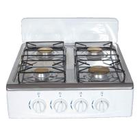 Quality Table Gas Stoves with Brass burner & Aluminum base,Wind guard plate for sale