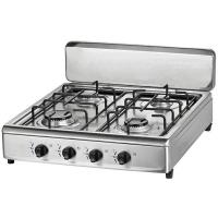 Quality 4 Burners Table Gas Stoves with Stainless steel body and working top for sale