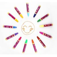 China Colorful oil pastel crayon for children on sale