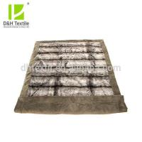 Quality 2 Ply New Design Animal Pattern Long Pile Faux Fur Blanket for sale