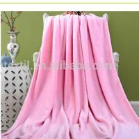 Quality Free sample Hot Sales 100% Polyester Nano Blanket for sale