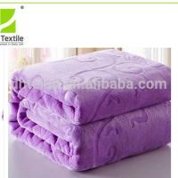 Quality Hot Sales 100% Polyester World Class Super Soft Blanket for sale