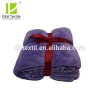 Buy cheap Wholesale quality warm plain coral fleece blanket from wholesalers