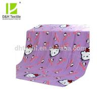 Buy cheap Soft Colorful Hello Kitty Polar Fleece Blankets For Kids from wholesalers