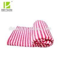 Buy cheap Big Size Stripe Double Bed Coral Fleece Blanket from wholesalers