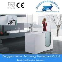 China Safety walk in bath tub for elderly people on sale