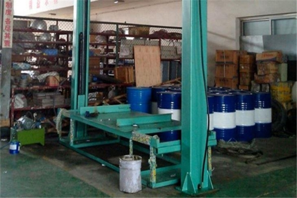 China Hydraulic Gantry Lift for Hot Press