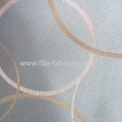 China 100% polyester jacquard curtain fabric