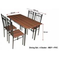 Buy cheap Metal Furniture Metal Dinning Table from wholesalers