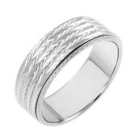 Buy cheap Rings Sterling Silve D/C Spinning Band Ring from wholesalers