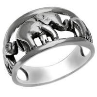 Buy cheap Rings Sterling Silver ELEPHANT Ring from wholesalers
