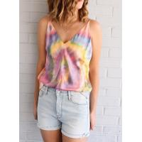 Quality AqCAQC Silk Tiedye CamiAQC Silk Tiedye Silk Tiedye Cami for sale